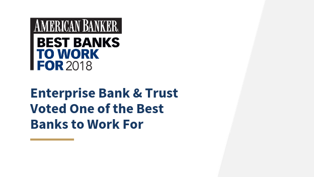 Best Bank to Work For 2018