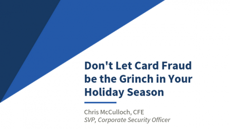 Don't let card fraud be the Grinch in your holiday season