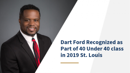 Dart Ford recognized as part of 40 under 40 class in 2019 st. louis