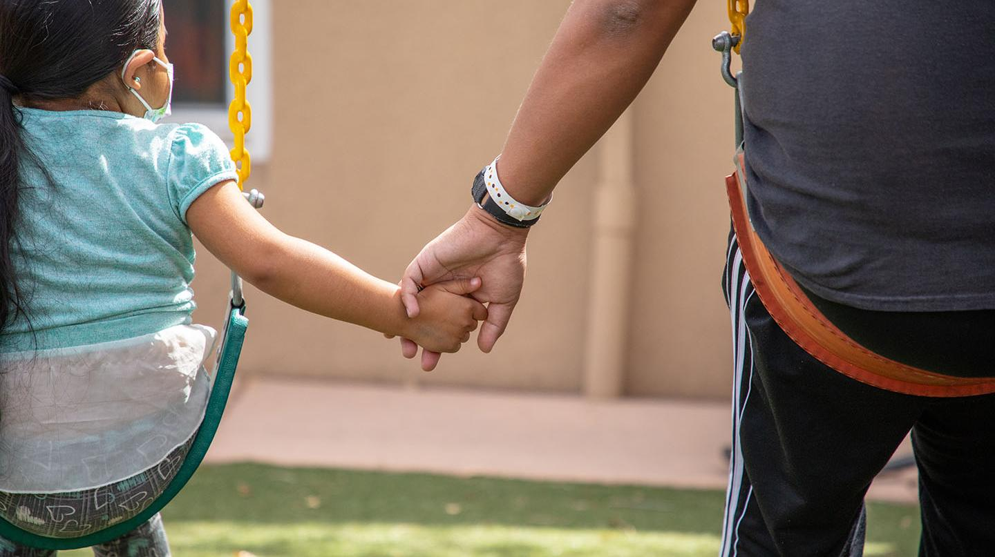 RMHC Hand Holding