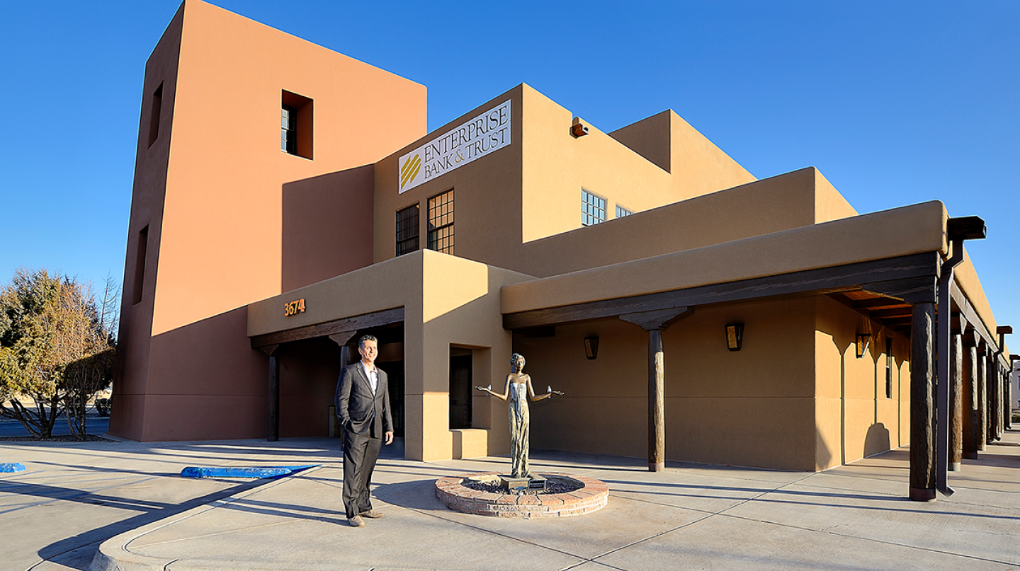 Robert Bransford, Enterprise Vice President, Facilities Management, was an instrumental part of the team that helped make our Cerrillos Road branch in Santa Fe, NM, an award-winning, sustainable building.